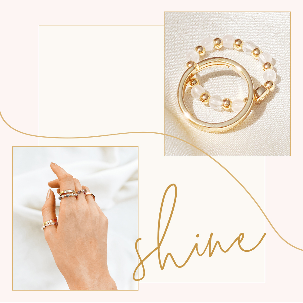 Dress Your Hands With Radiant Summer Rings!