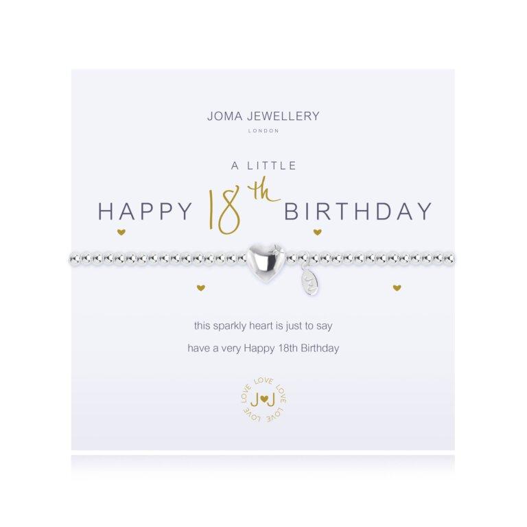 A Little Happy 18Th Birthday Bracelet