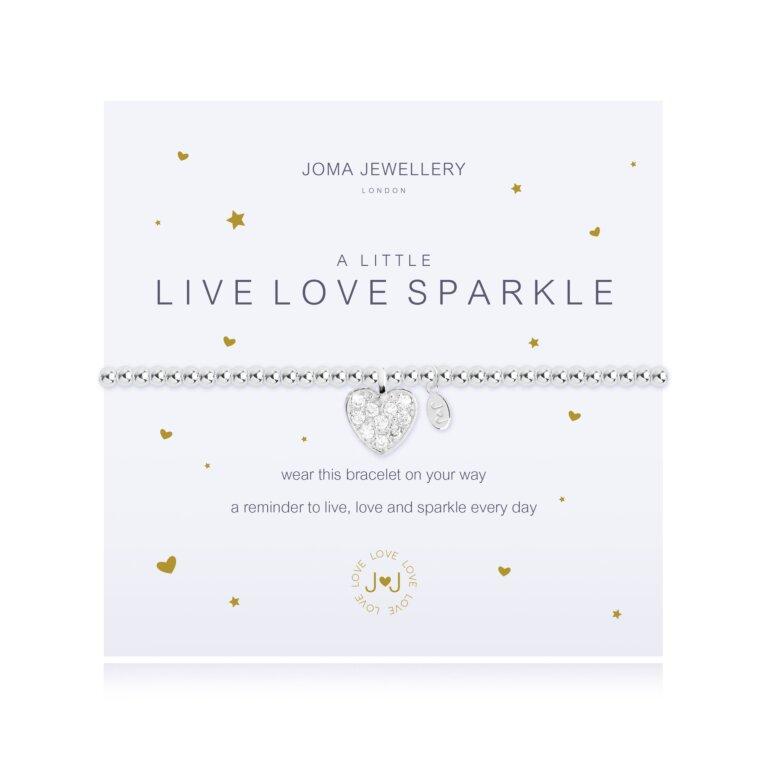 A Little Live, Love, Sparkle Bracelet