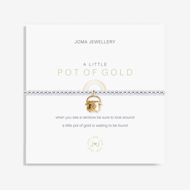A Little Pot Of Gold Bracelet