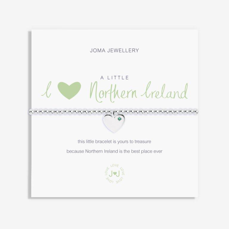 A Little I (Heart) Northern Ireland Bracelet