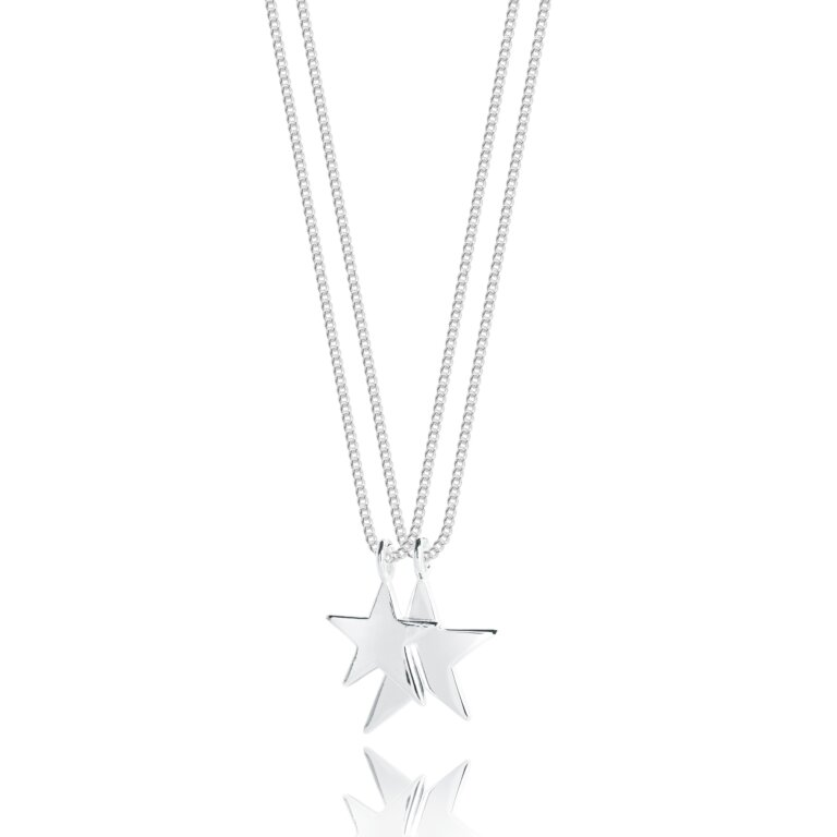 Star Karlie Double Chain Necklace