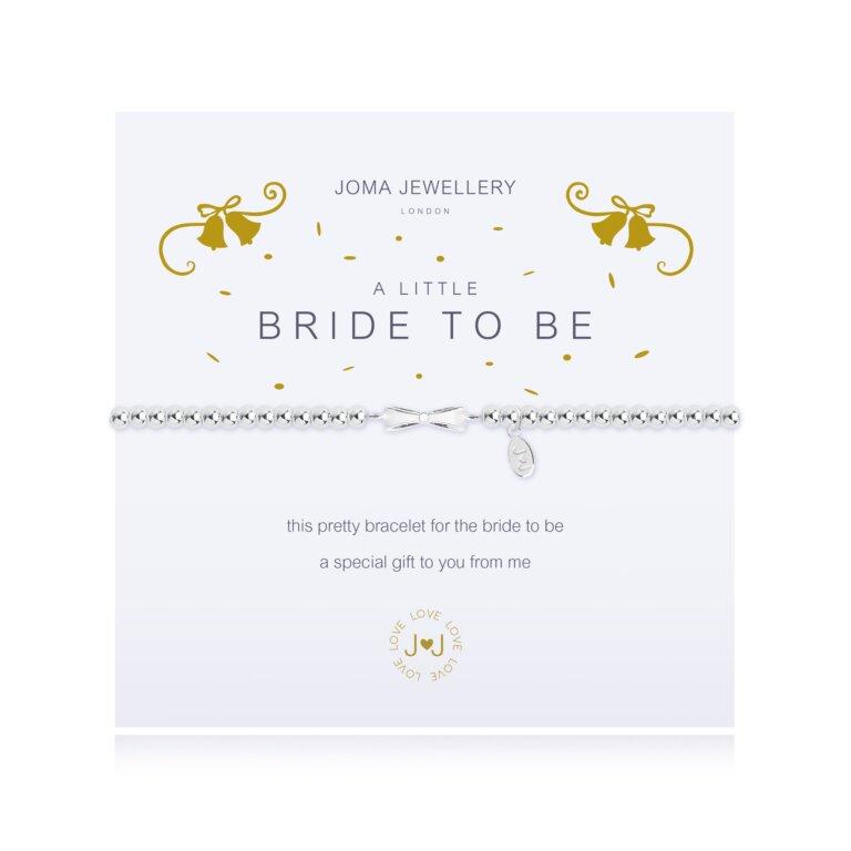 A Little Bride To Be Bow Bracelet