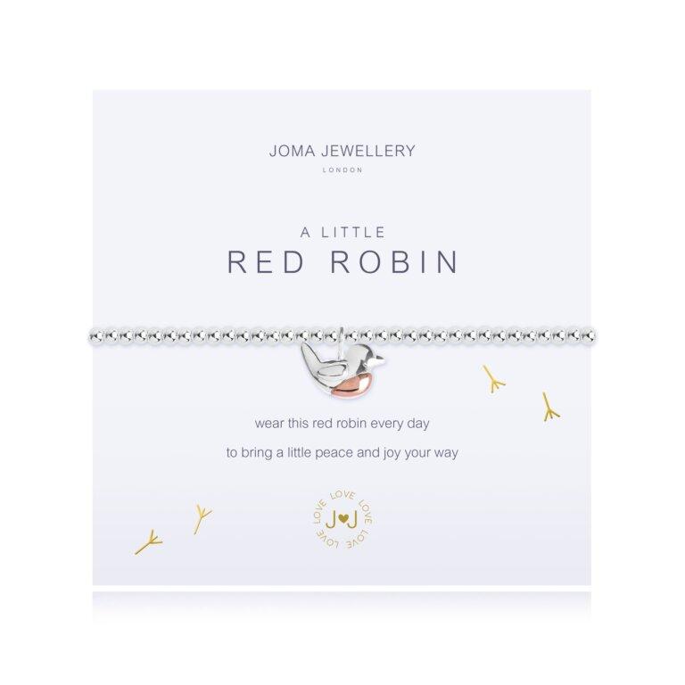 A Little Red Robin Bracelet