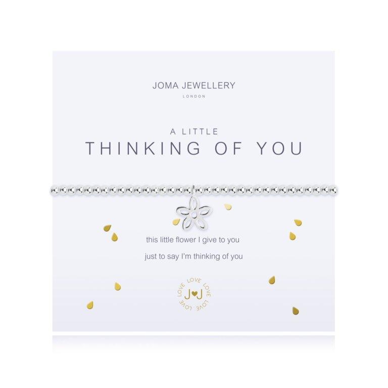 A Little Thinking Of You Flower Bracelet