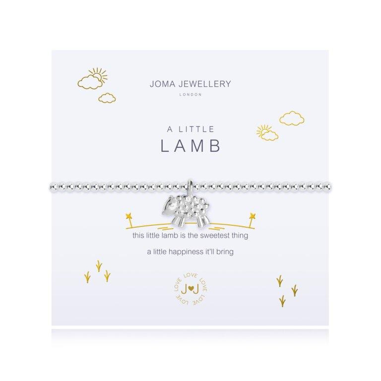A Little Lamb Bracelet