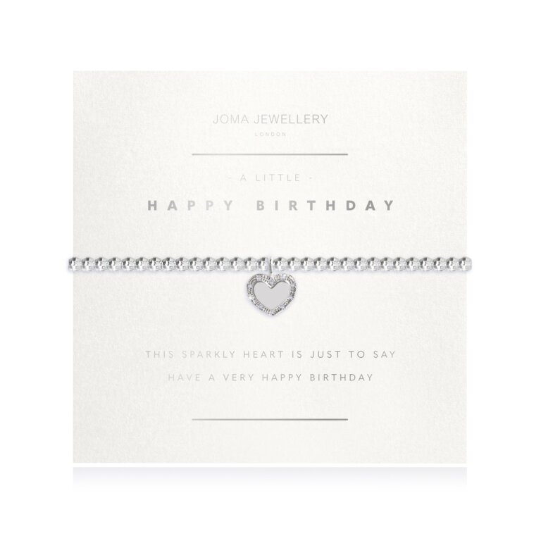 A Little Happy Birthday Faceted Bracelet