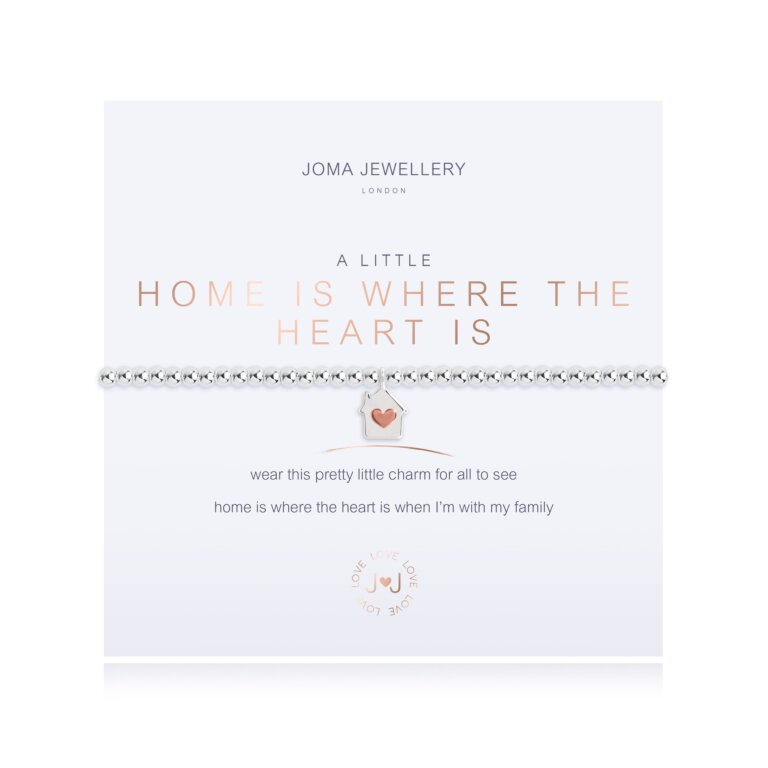 A Little Home Is Where The Heart Is Bracelet
