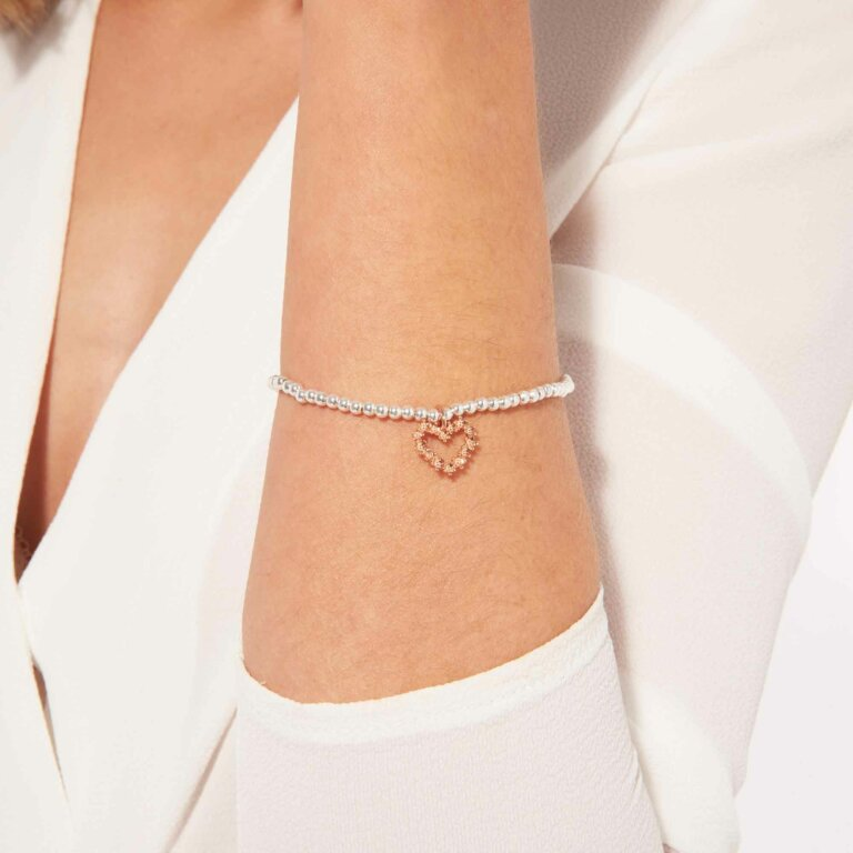 A Little Blushing Bride Bracelet