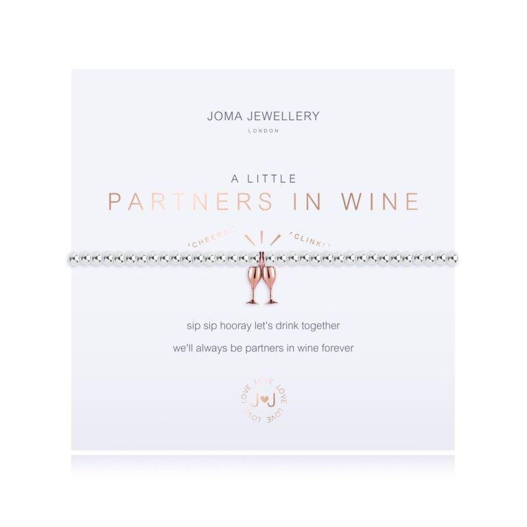 A Little Partners In Wine Bracelet