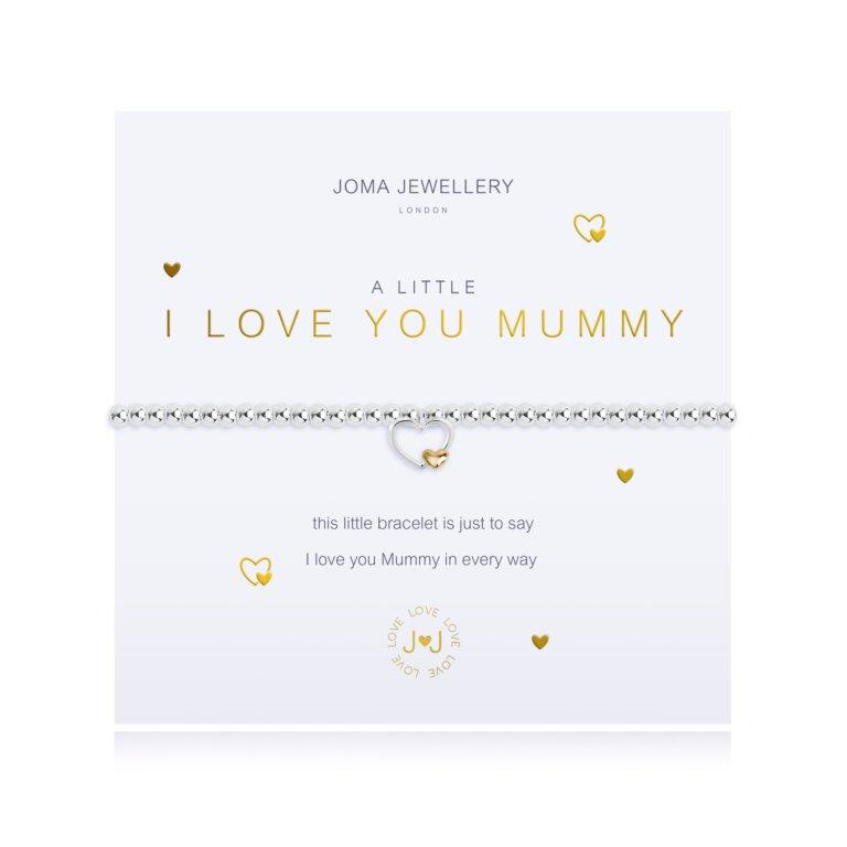 A Little I Love You Mummy Bracelet