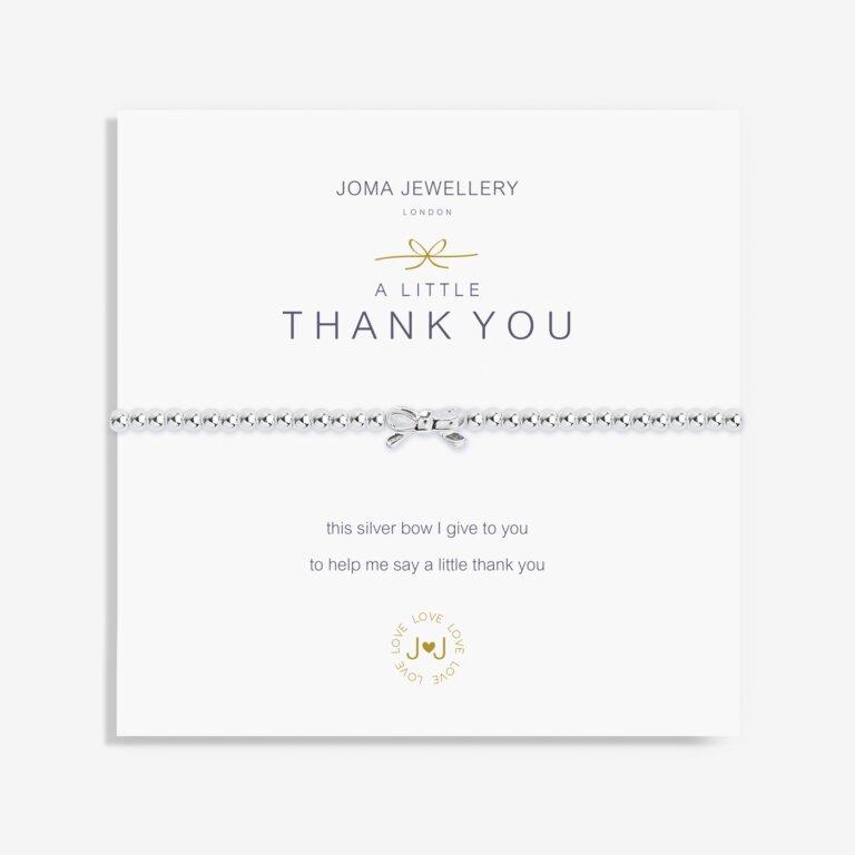 A Little Thank You Bow Bracelet