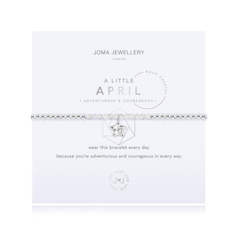 April A Little Birthstone Bracelet