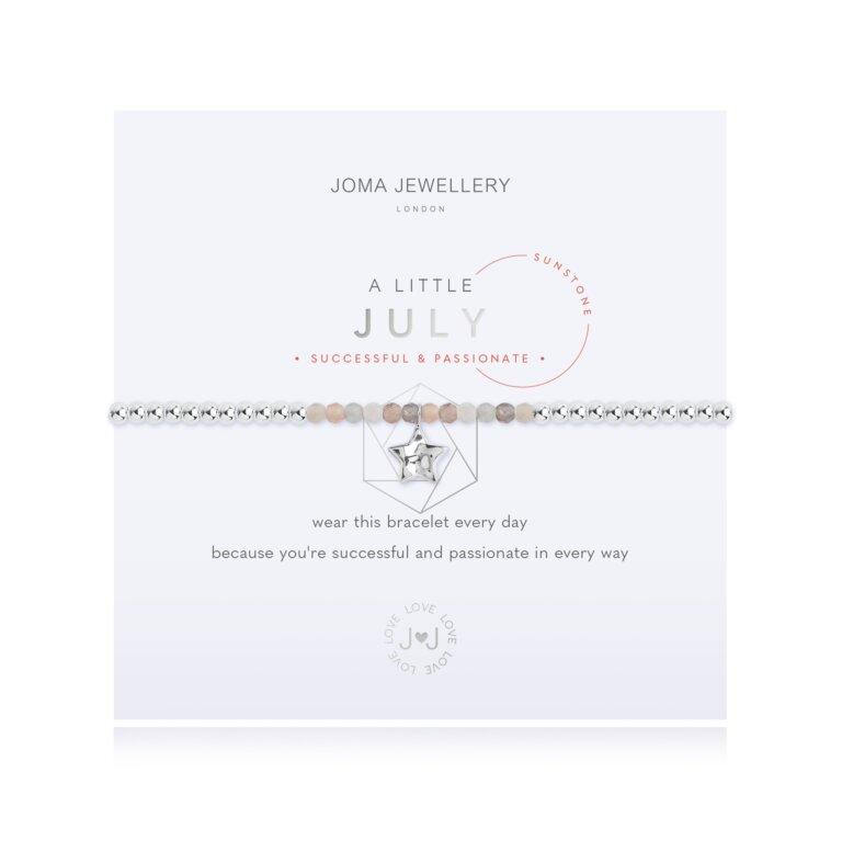 July A Little Birthstone Bracelet