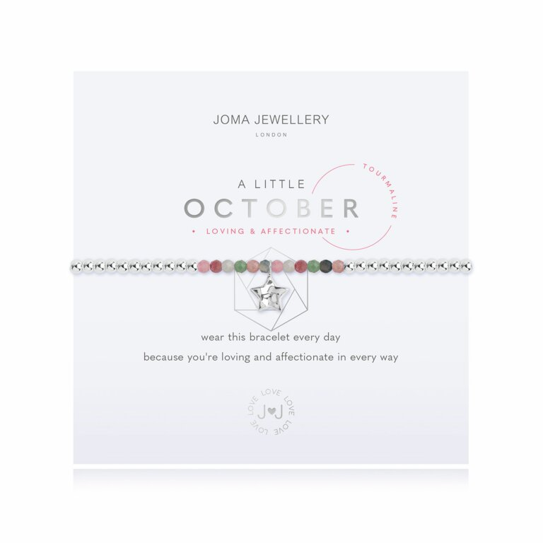 October A Little Birthstone Bracelet
