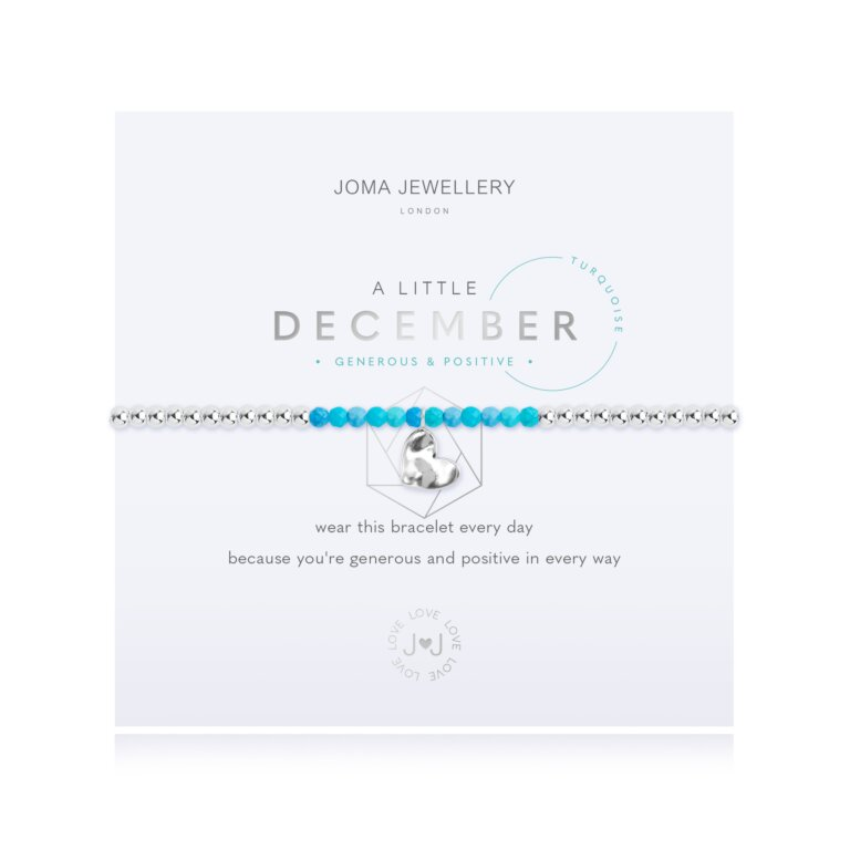 December A Little Birthstone Bracelet