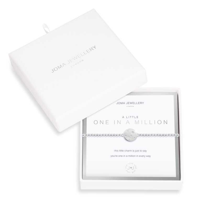 Beautifully Boxed A Little One In A Million Disc Bracelet