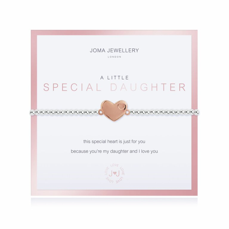 Beautifully Boxed A Little Special Daughter Bracelet