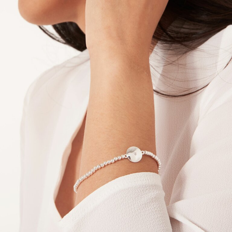Beautifully Boxed A Little Super Sister Disc Bracelet