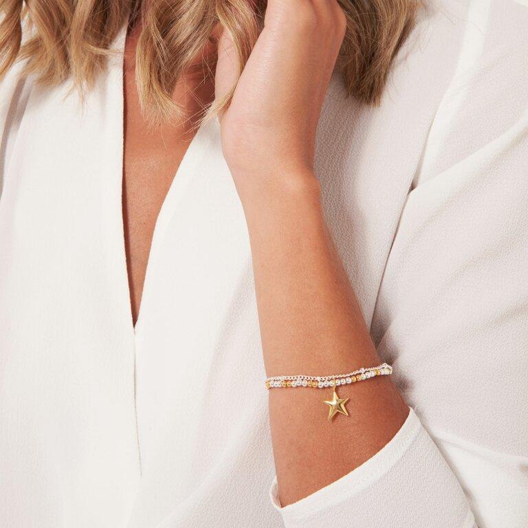 Amulet Gold Star Chain Bracelet