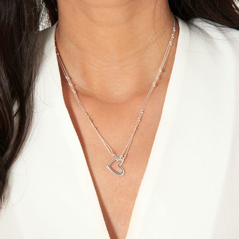 Aurora Heart Necklace