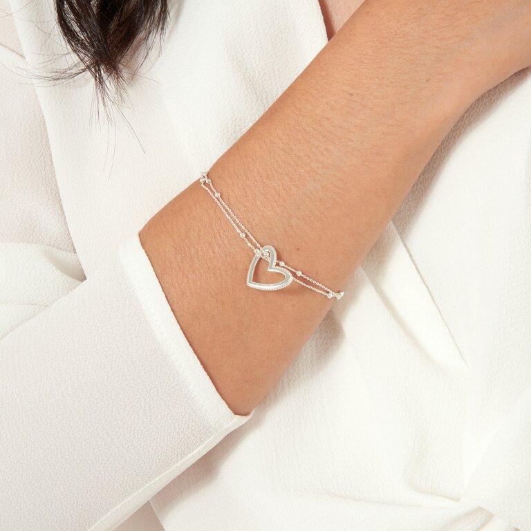 Aurora Heart Bracelet