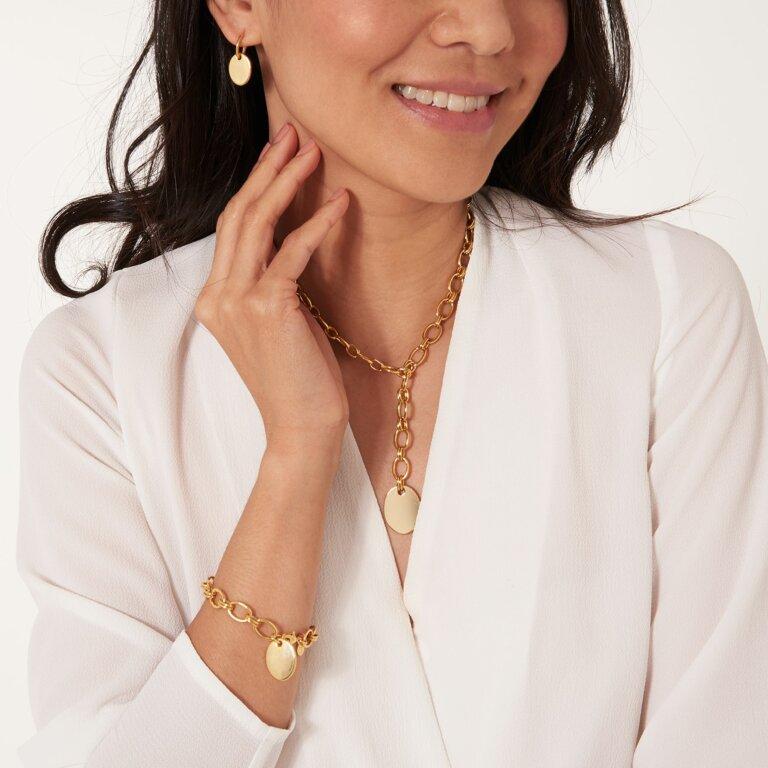Kali Gold Link Earrings