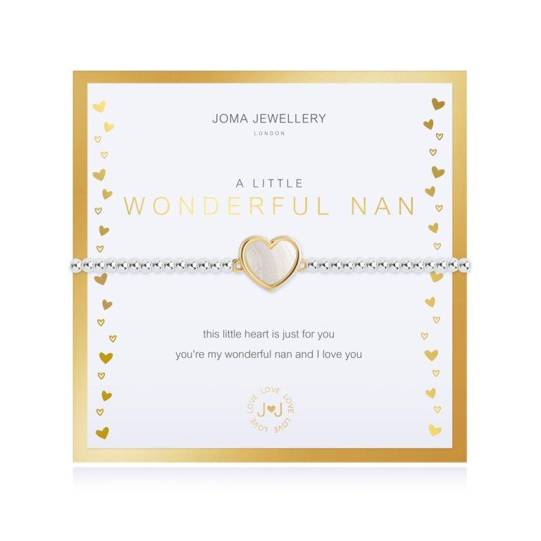 Beautifully Boxed A Little Wonderful Nan Bracelet