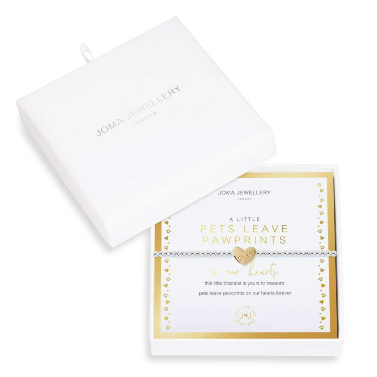 Beautifully Boxed A Little Pets Leave Pawprints On Our Hearts Bracelet