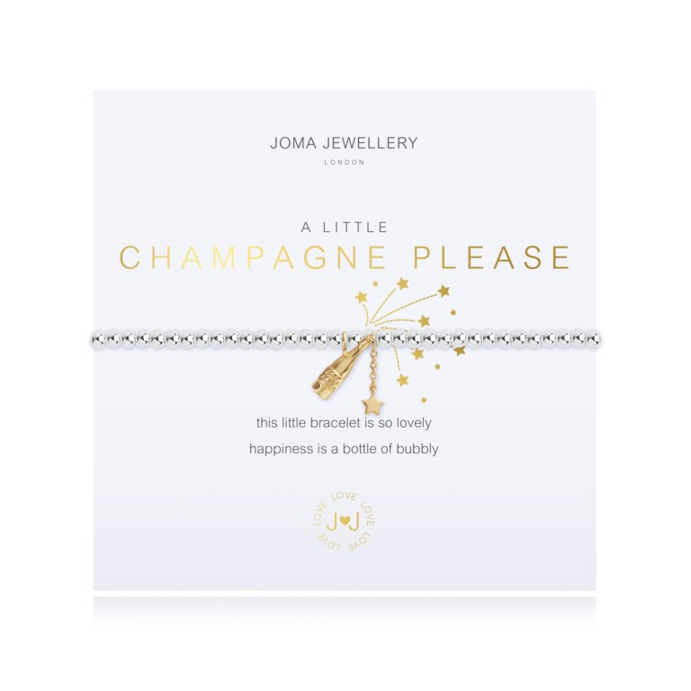 A Little Champagne Please Bracelet