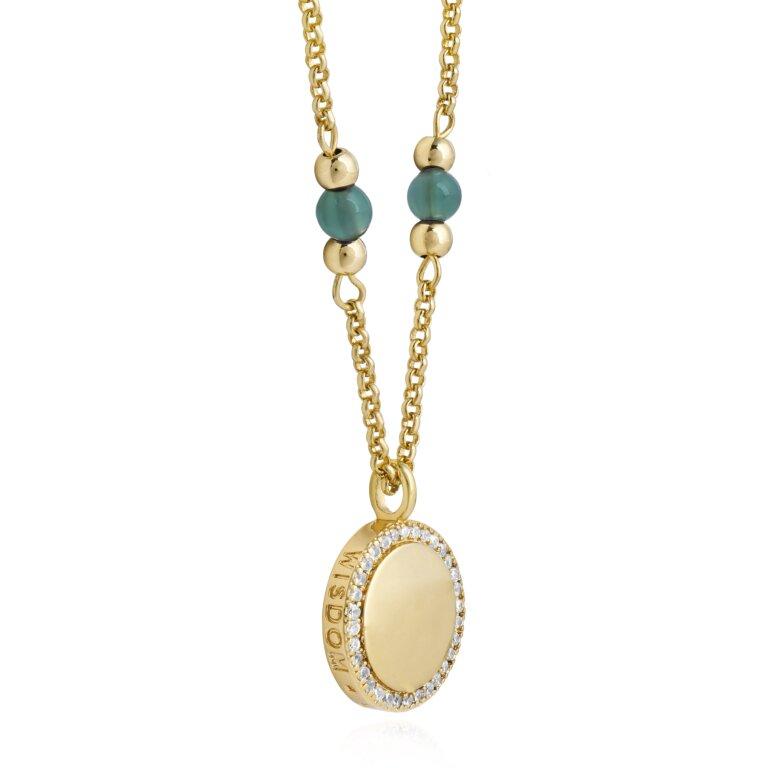 Wellness Gems Adventurine Necklace