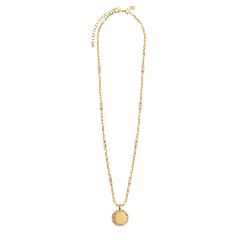 Wellness Gems Rose Quartz Necklace