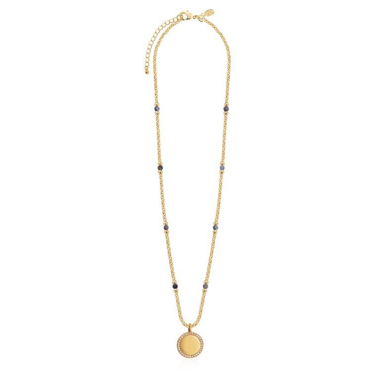 Wellness Gems Blue Lace Agate Necklace