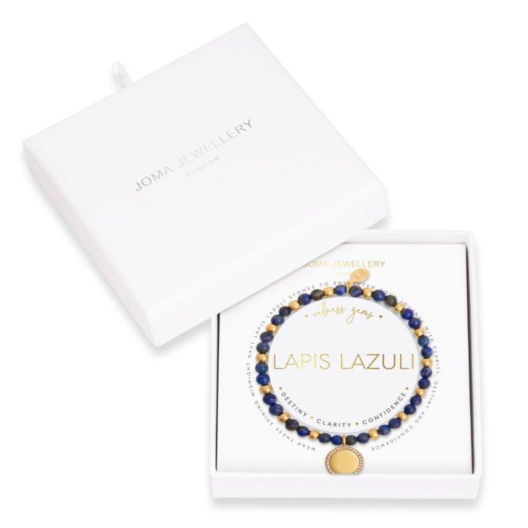 Wellness Gems Lapis Lazuli Bracelet