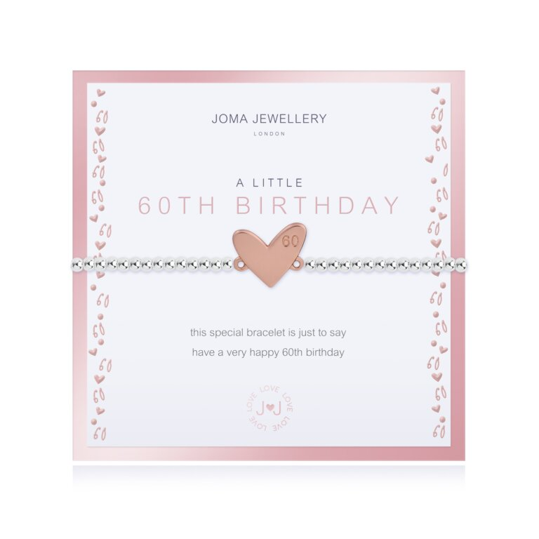 Beautifully Boxed A Little 60th Birthday Bracelet