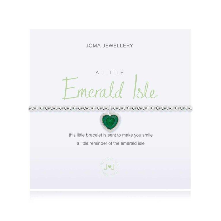 A Little Emerald Isle Irish Bracelet