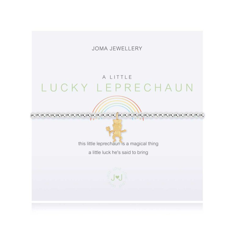 A Little Leprechaun Irish Bracelet