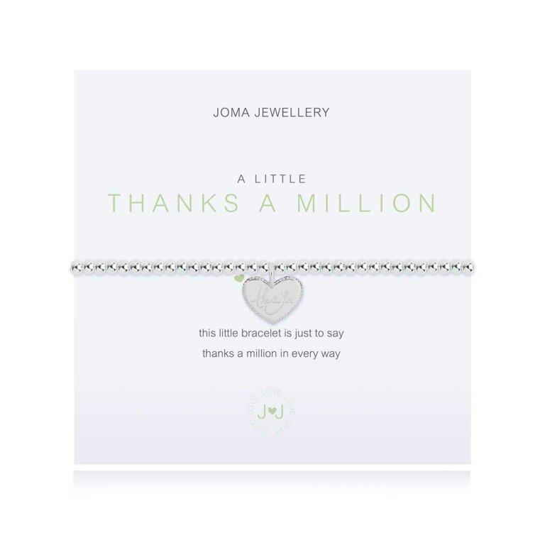 A Little Thanks A Million Irish Bracelet