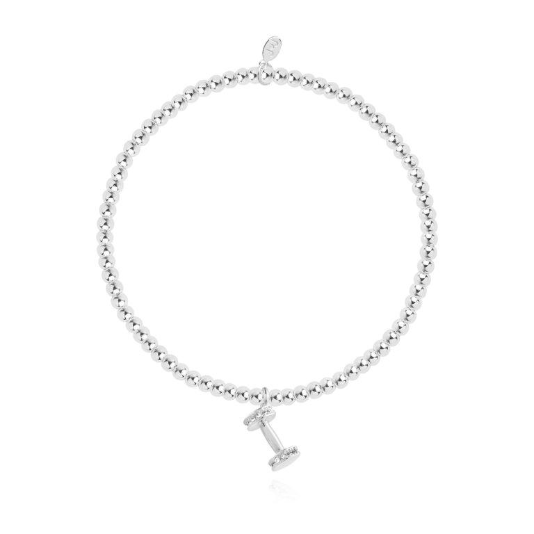 a little Gym Bunny Bracelet