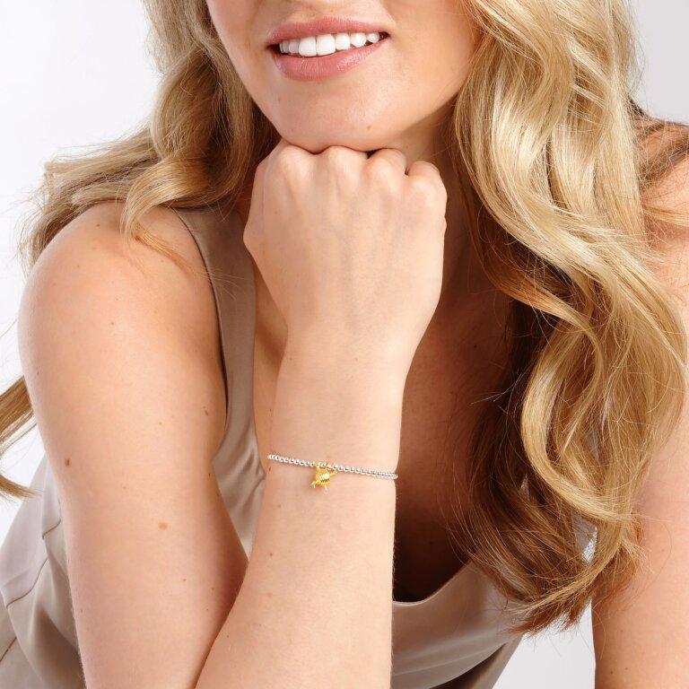 a little Love To Knit Bracelet