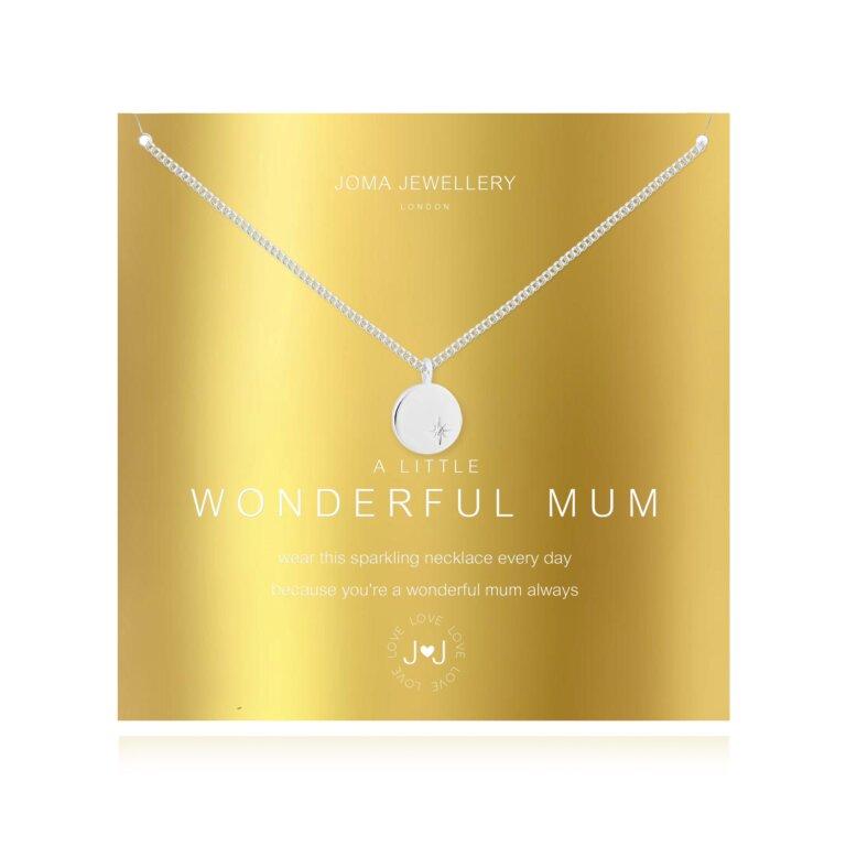 a little Wonderful Mum Necklace