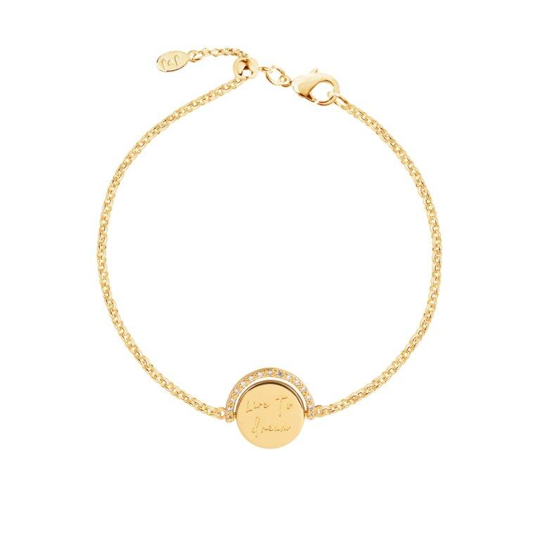 Positivity Pendants Live To Dream Bracelet