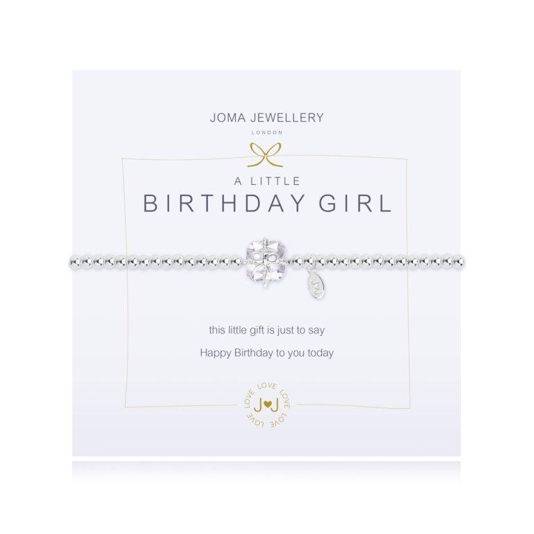 A Little Birthday Girl Sparkling Bracelet