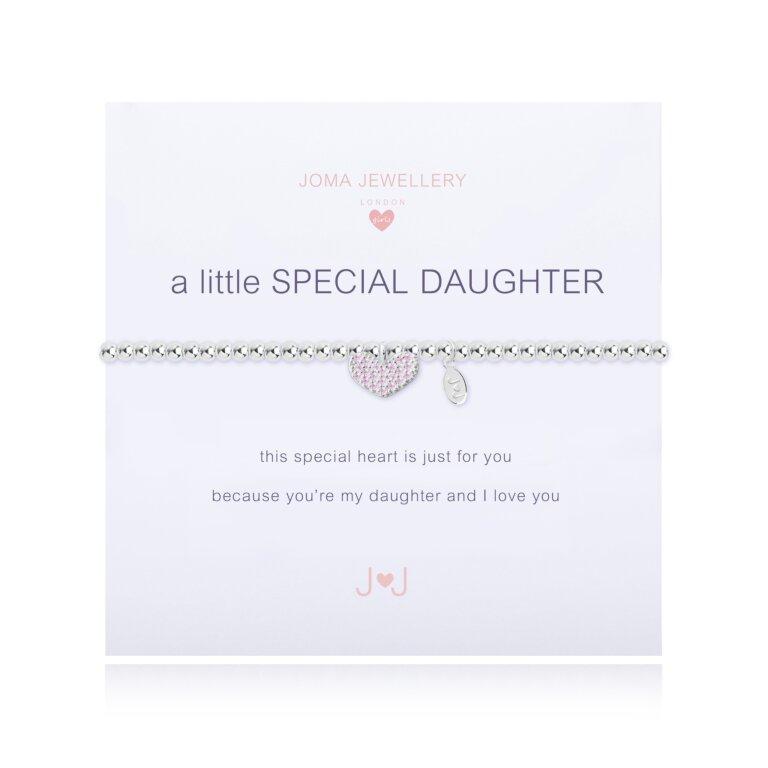 Children's A Little Special Daughter Bracelet