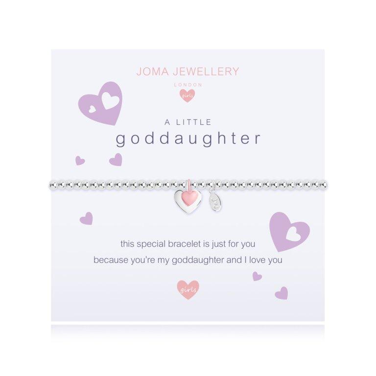 Children's A Little Goddaughter Bracelet