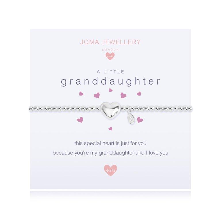 Children's A Little Granddaughter Bracelet