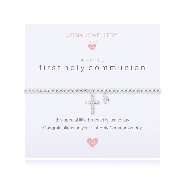 Children's A Little First Holy Communion Bracelet