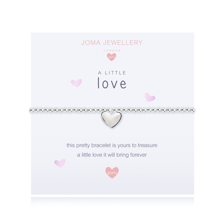 Children's A Little Love Bracelet In Pink