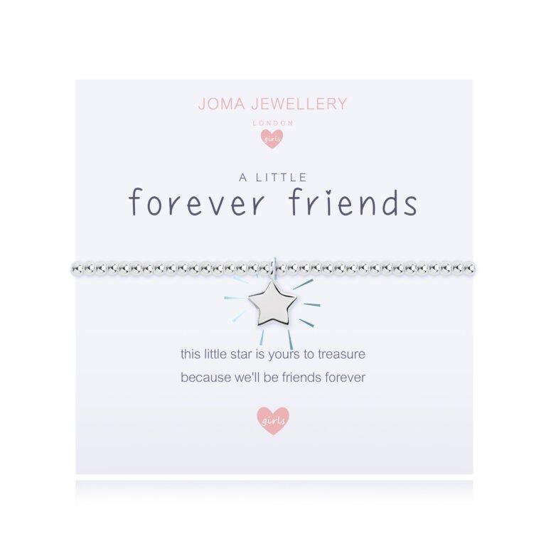 Children's A Little Forever Friends Bracelet In Blue