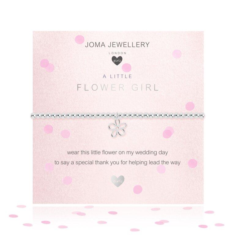 Children's A Little Flower Girl Bracelet